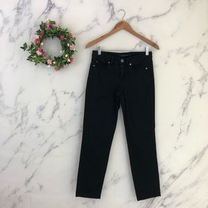 Calvin Klein Skinny Crop Jeans in Black
